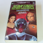 Star Trek THE next generation Contamination paperback book John Vornholt